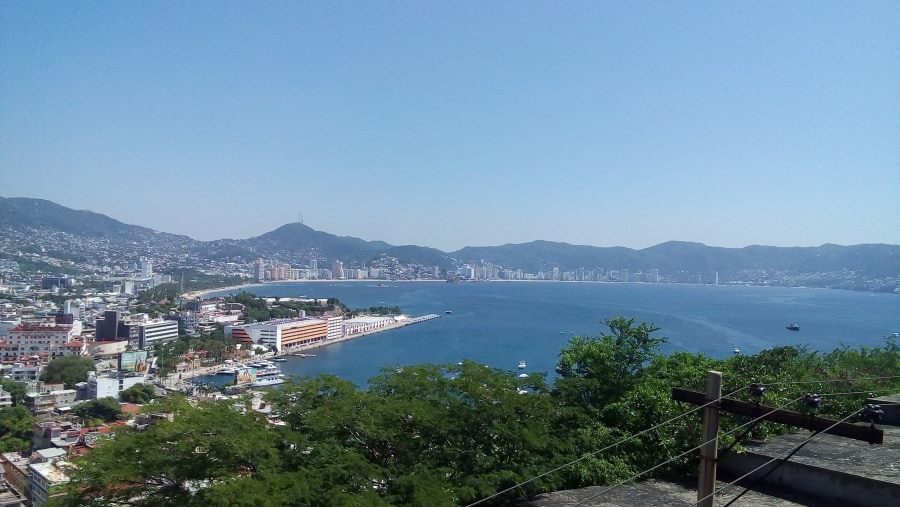 Old Acapulco view
