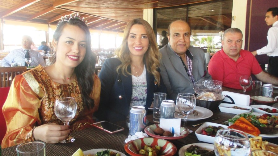 Cultural delegation from Tunis-Carthage visiting the motherland Tyre (2017-05)