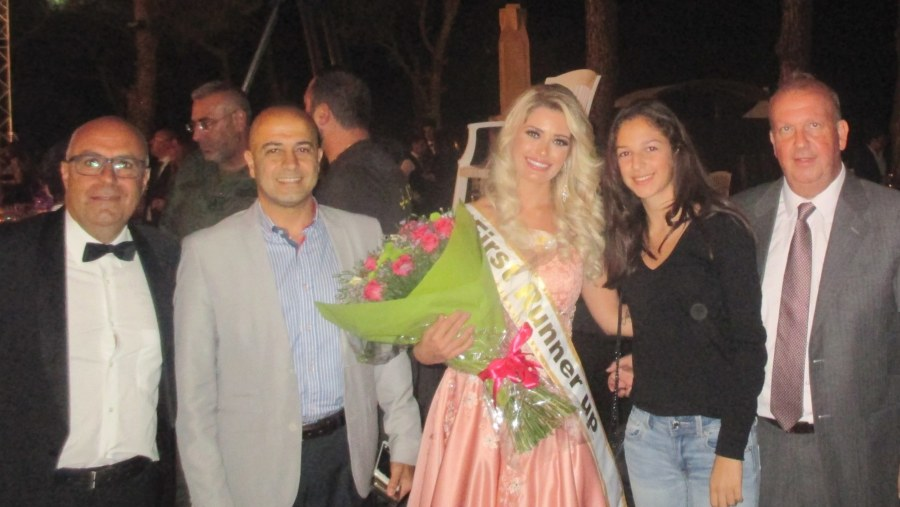 Miss Lebanon Emigrants from Brazil in the festival of Dhour-Choueir (2017-08)