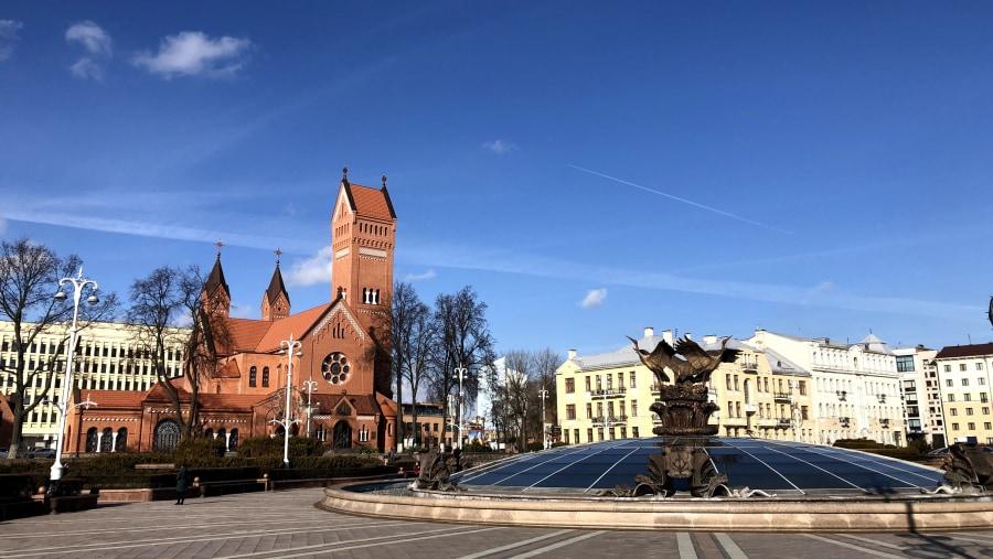 Nezalezhnosty (Independence) square