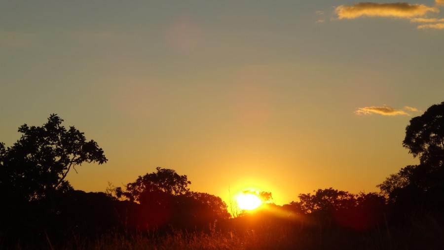 Amazing sun-set