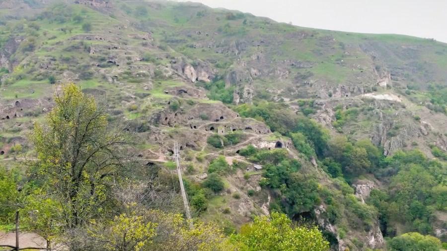Ancient cave city Khndzoresk