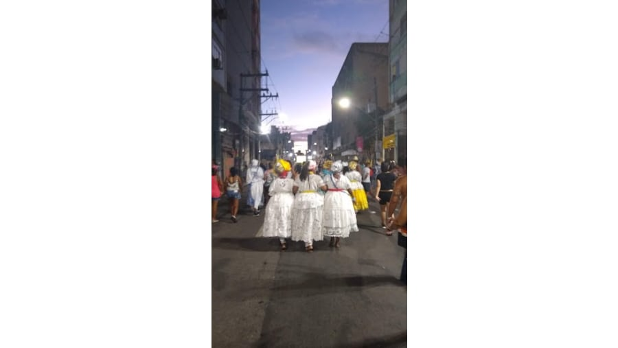 Baianas at carnaval