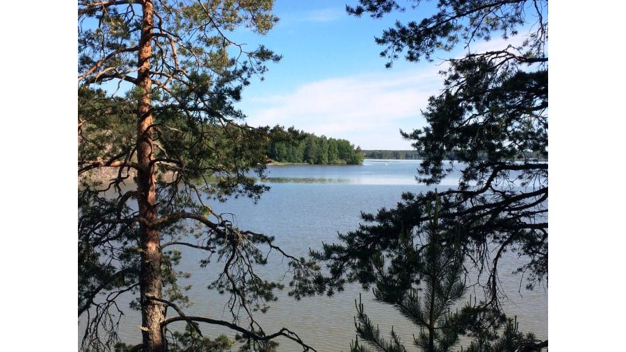 View to Lake Tuusula
