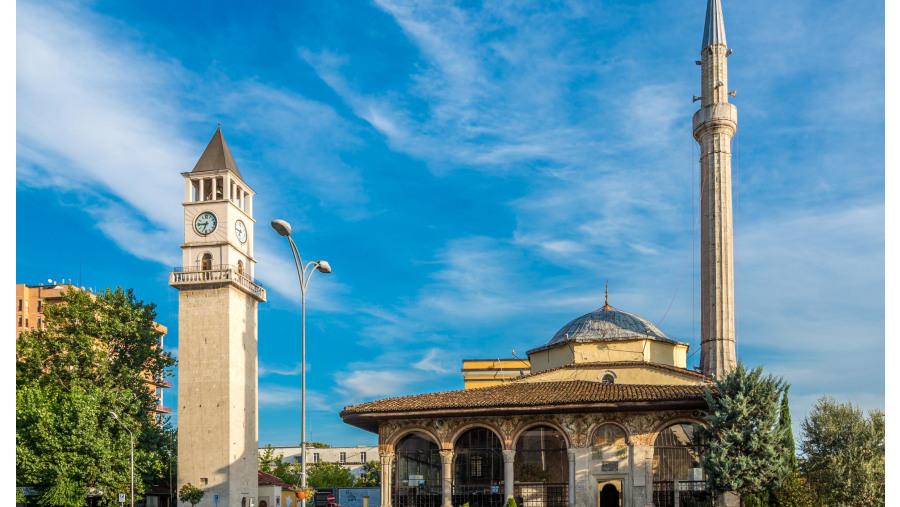 Tirana city centre