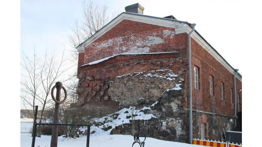 Suomenlinna remains of Crimean war 1855