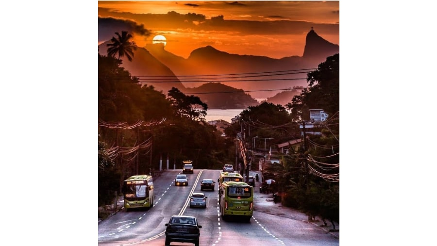 Corcovado view from Niteroi
