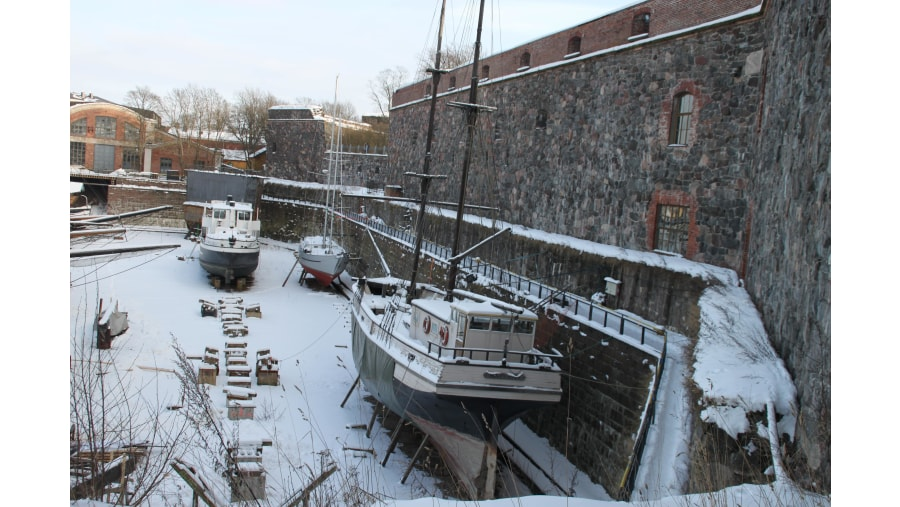 Suomenlinna old dry dock