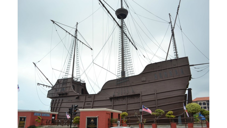 The Maritime Museum or the replica of  Flora de Lamar