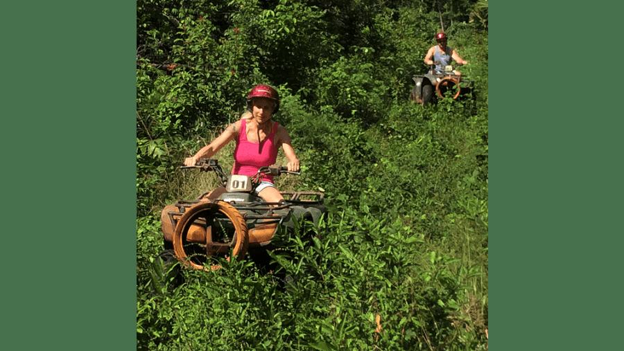 Atv fun ride.