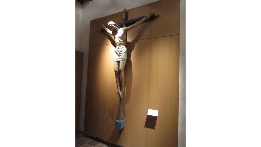 Cristo de Pasta de caña de maíz