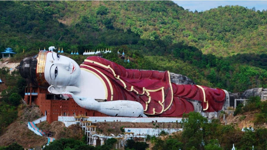 WinSwinTawYa, Biggest Reclying Buddha