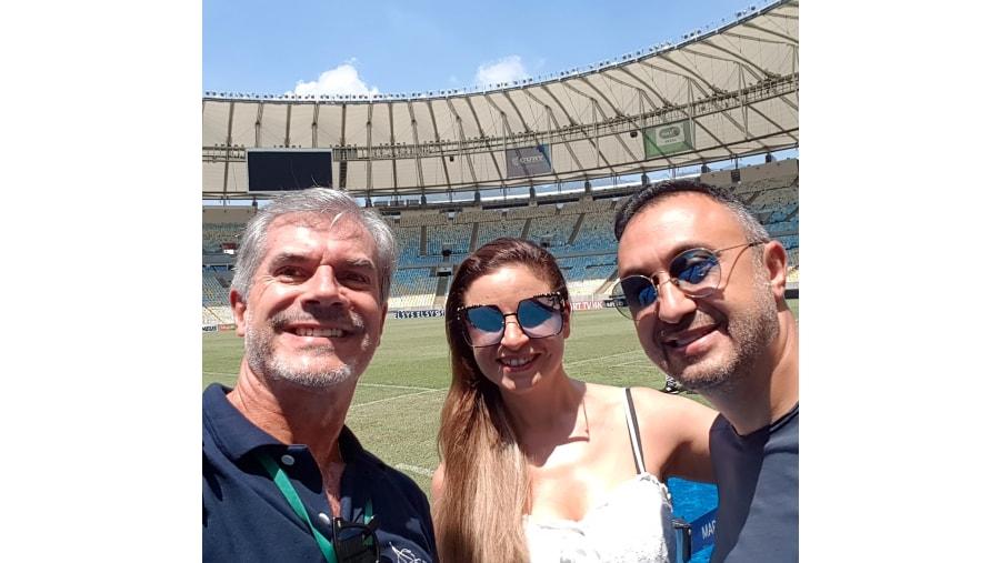 Visiting Maracanã Stadium