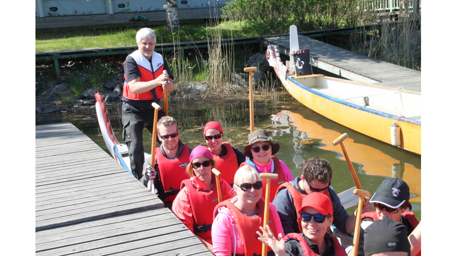 Dragonboat tours for groups