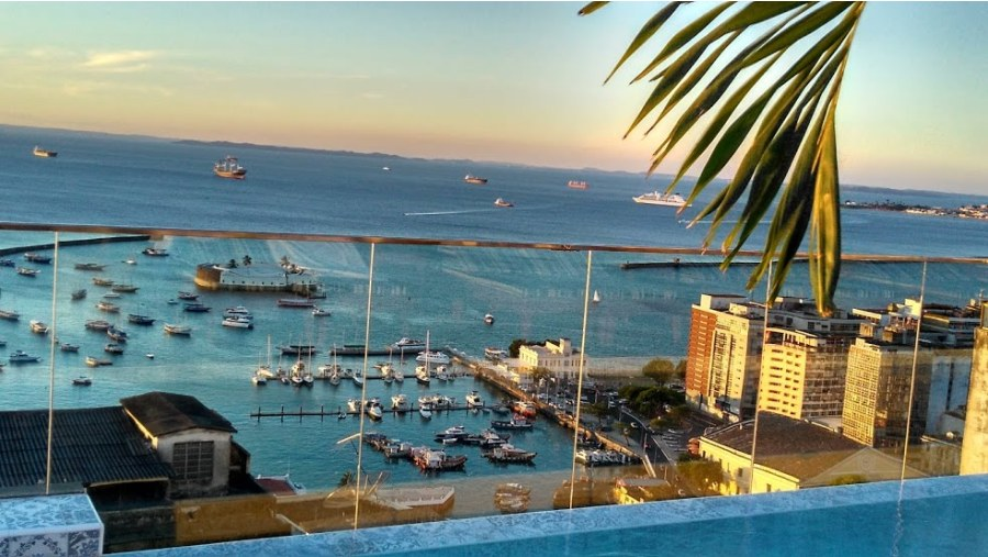 View from Fera Palace Hotel