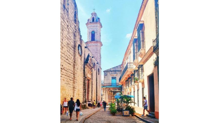 Wandering in Old Havana