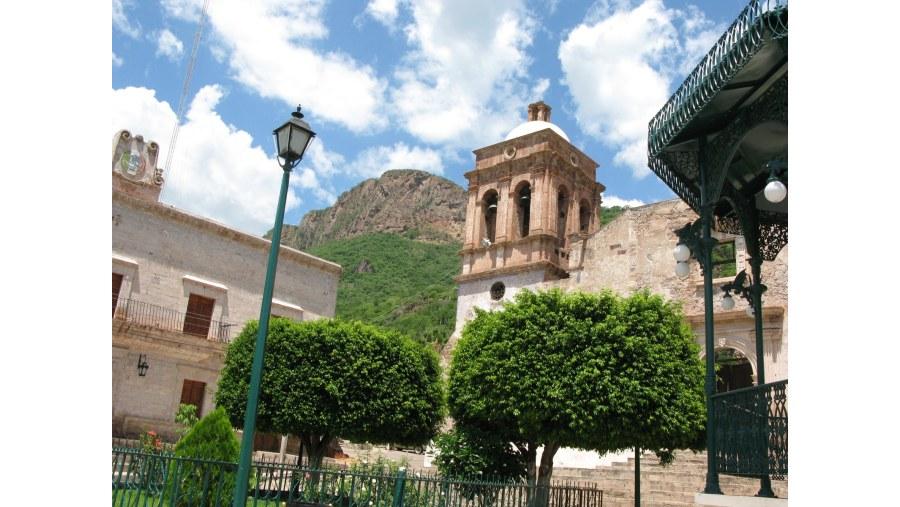 Bolaños, camino a Zacatecas