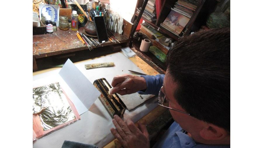 Pátzcuaro, artesanos del Oro