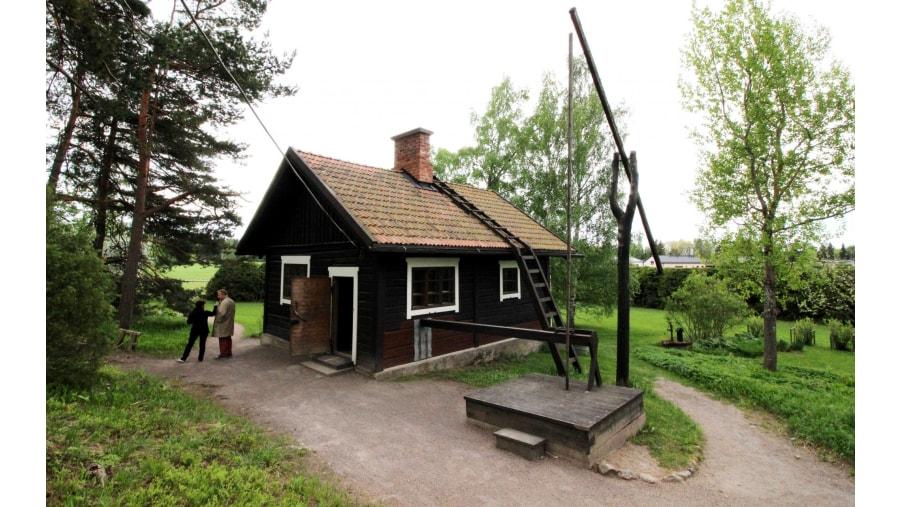 Sibelius sauna at Ainola