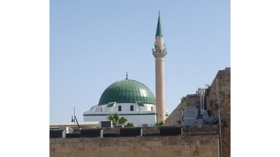 El Jazzar Mosque - Acre