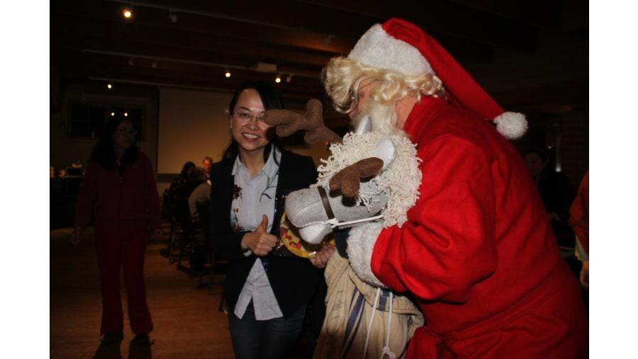 Santa Claus can be met!