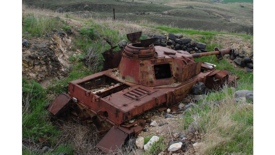 Pre 1967 Syrian Tank