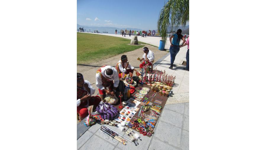 Artesanías Voladores de Papantla Veracruz