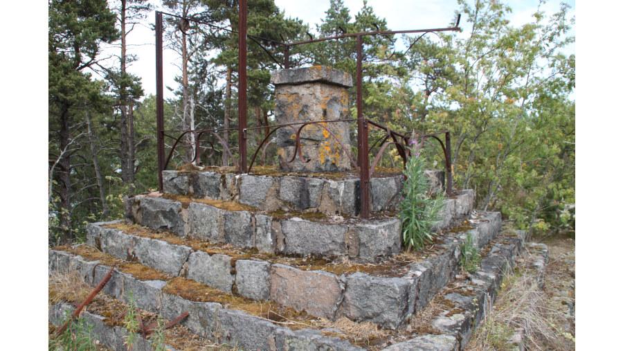 Vallisaari fortress, cannon fire measure tower