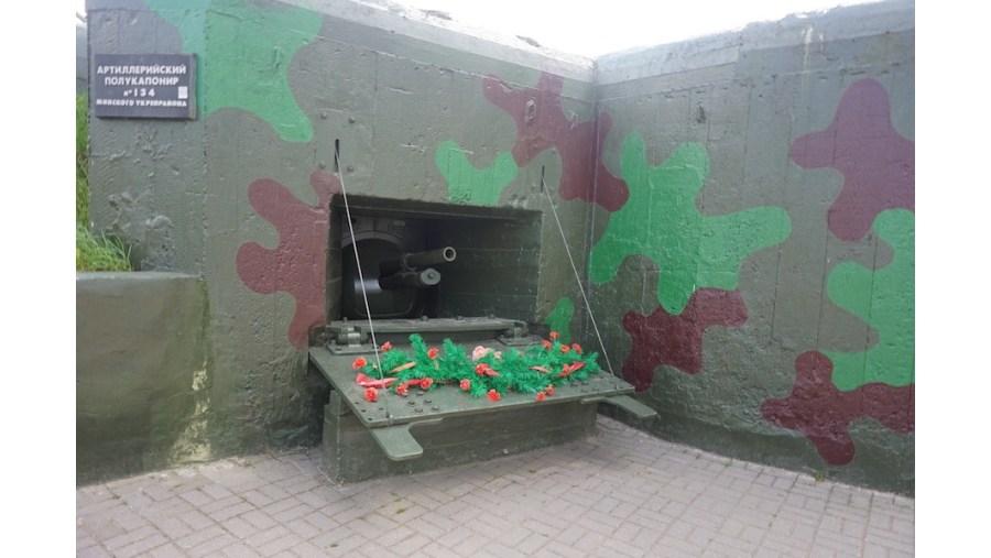 Stalin Line open museum: outside the bunker