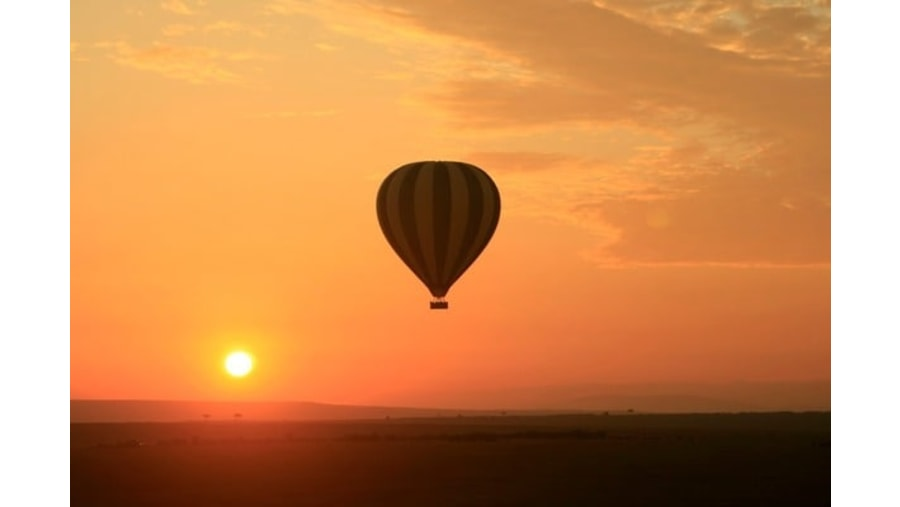 Balloon Safari ride in Serengeti National Park