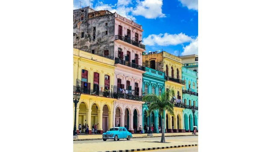 Colorful façades