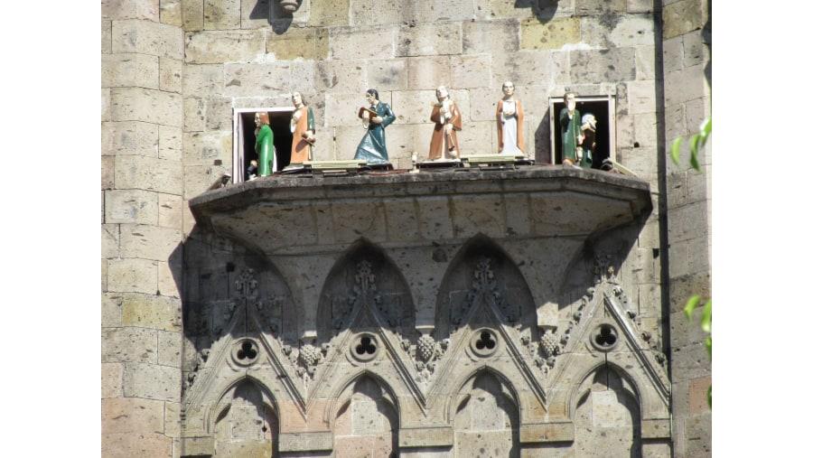 Apóstoles con el Carrillón