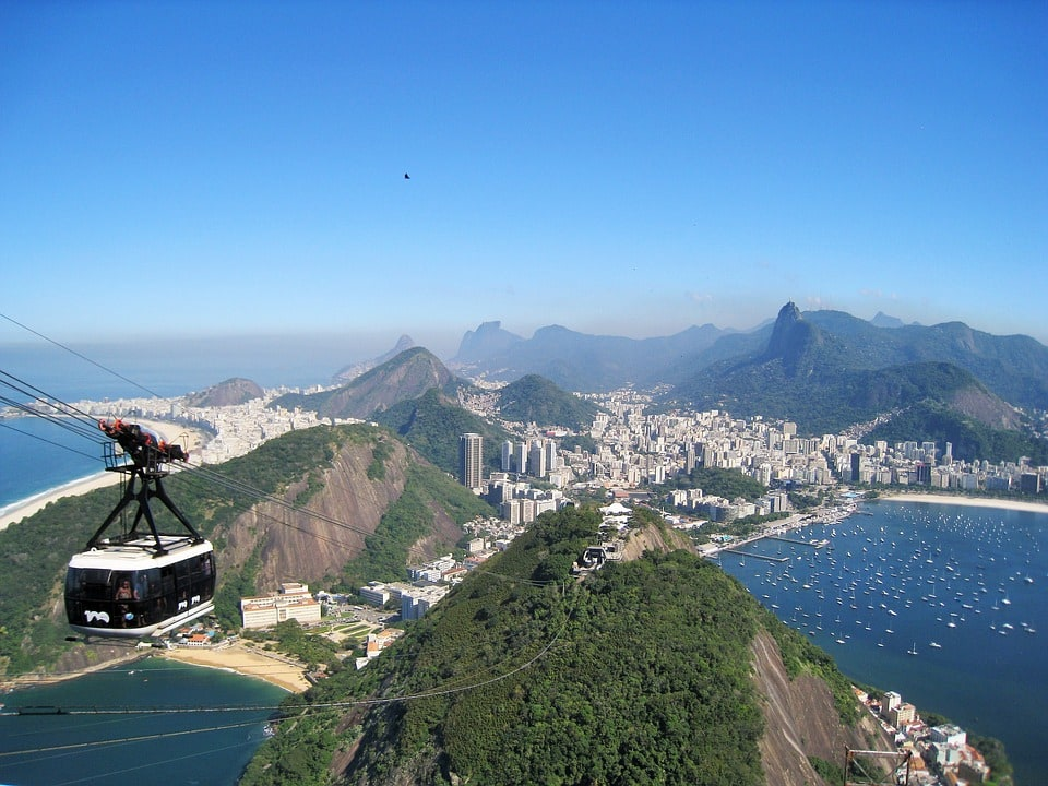 Teleferico, Rio de Janeiro