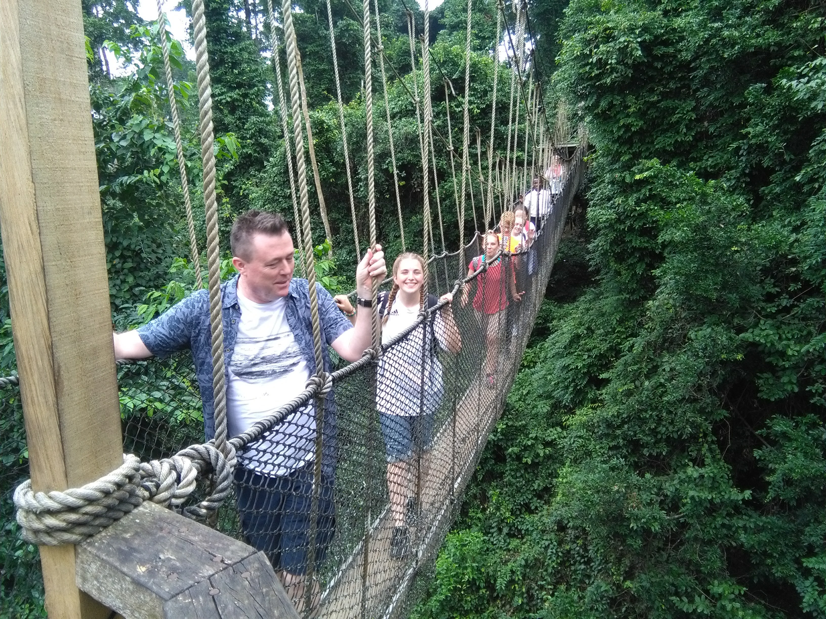 Kakum Rainforest Canopy Walkway