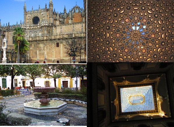 Cathedral+Alcazar+Santa Cruz neighbourhood