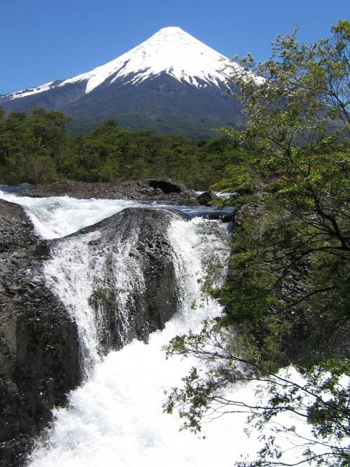 Relish the experience of visiting Petrohue Falls.