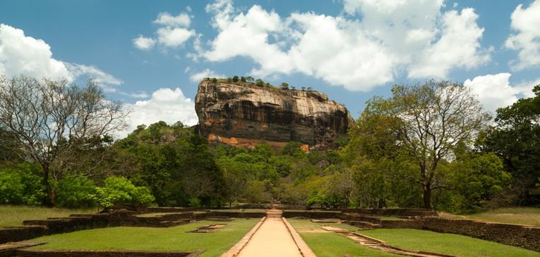 Sigirya Rock Fortress, Sri Lanka