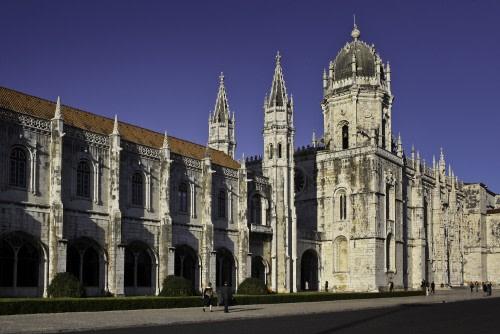 Hieronymites Monastery at Belém, Lisbon, Portugal