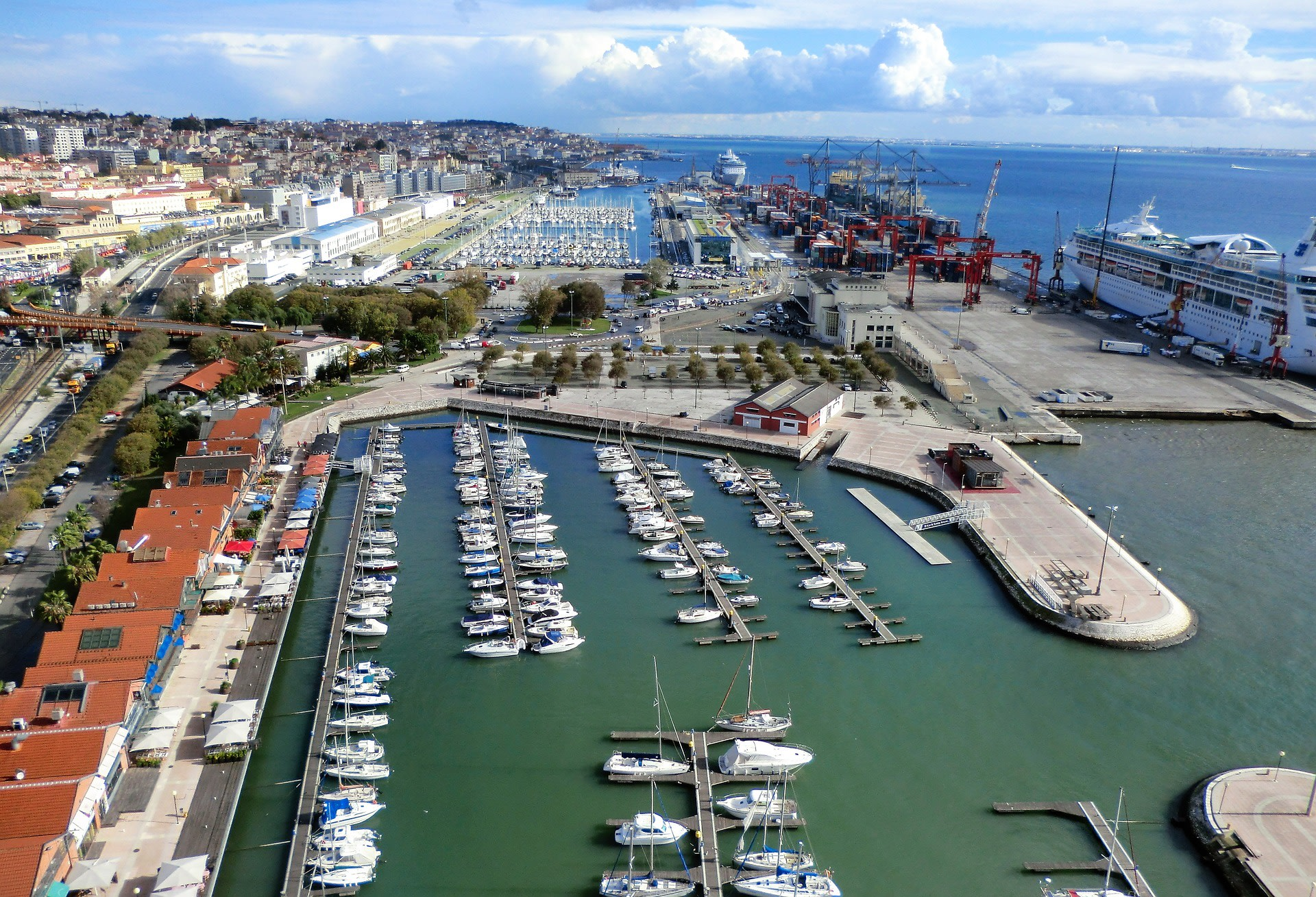Enchanted Port in Downtown Lisbon