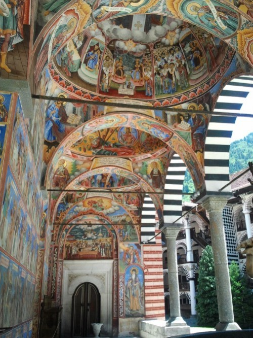 Frescoes of Rila Monastery