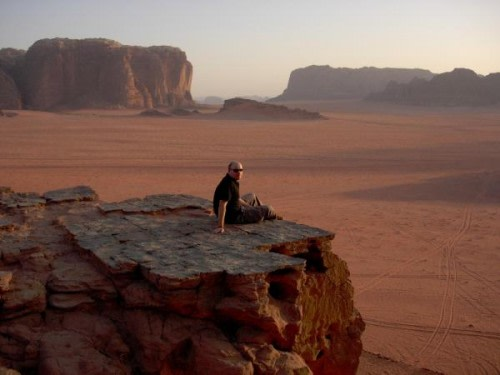 Wadi Rum Desert of Jordon