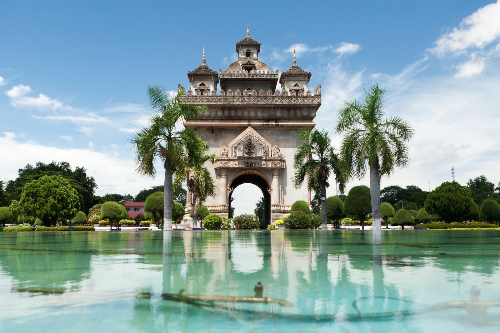 River park in Vientiane