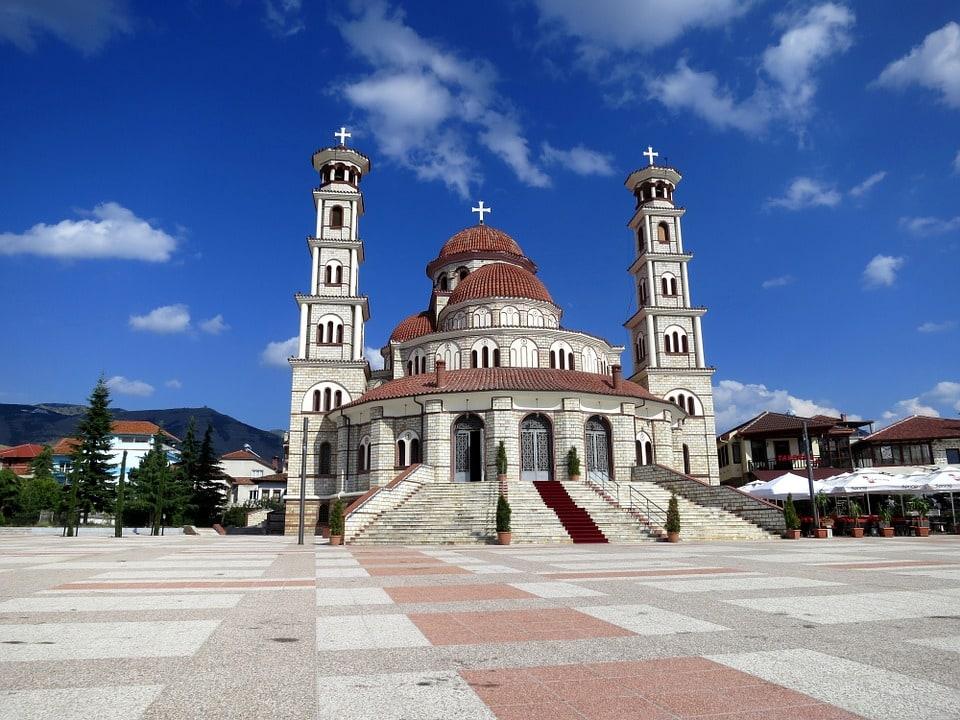 Korce Cathedral, Korce, Albania