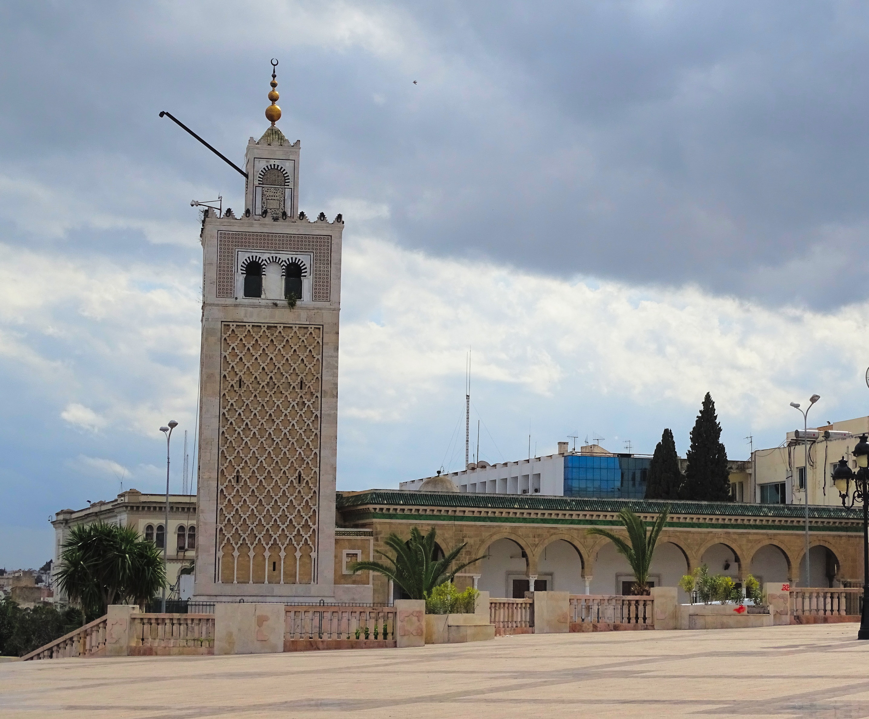 View of Zaytuna Mosque