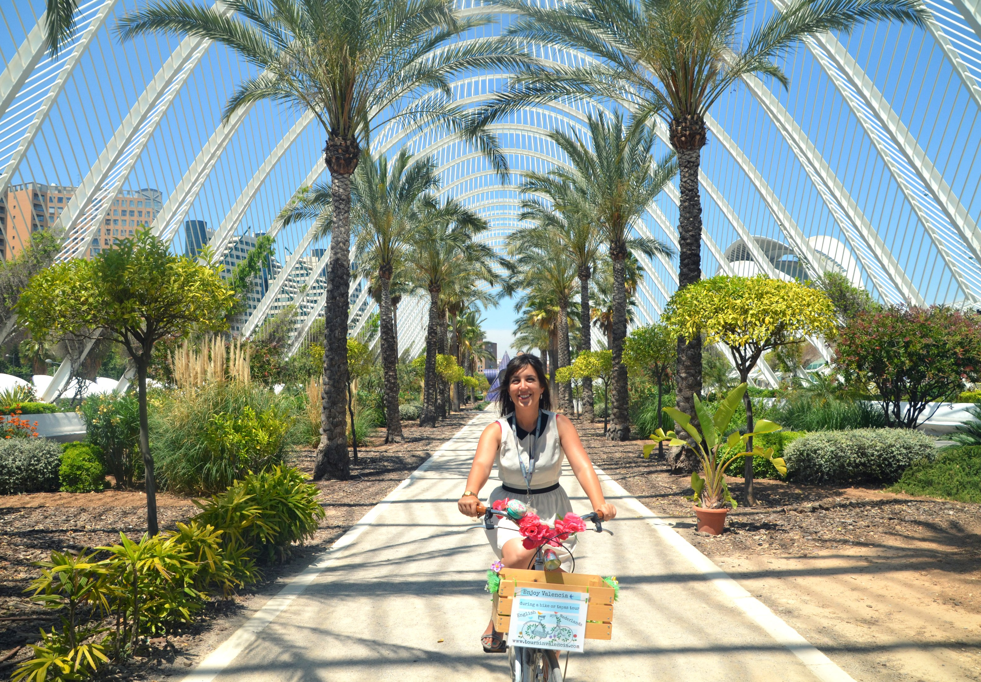 Cycle Through the City of Arts & Sciences