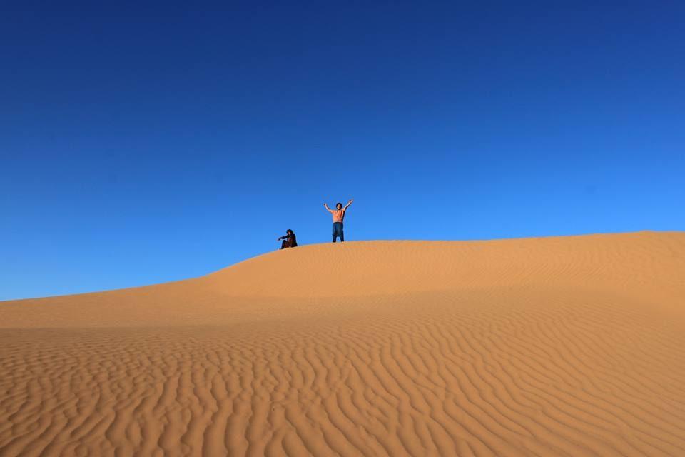 Desert of Erg Chebbi