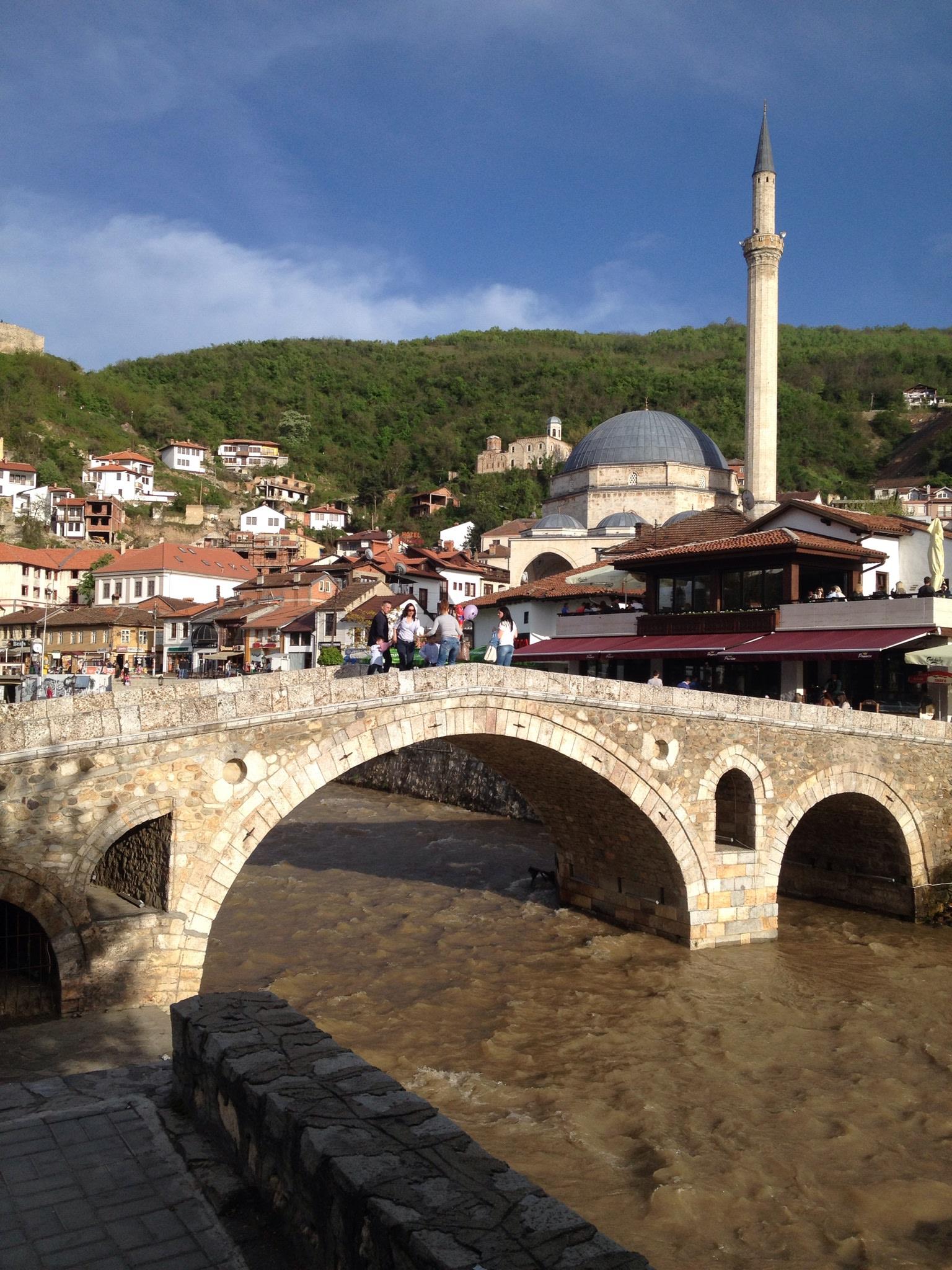 Stone Bridge In Pristina