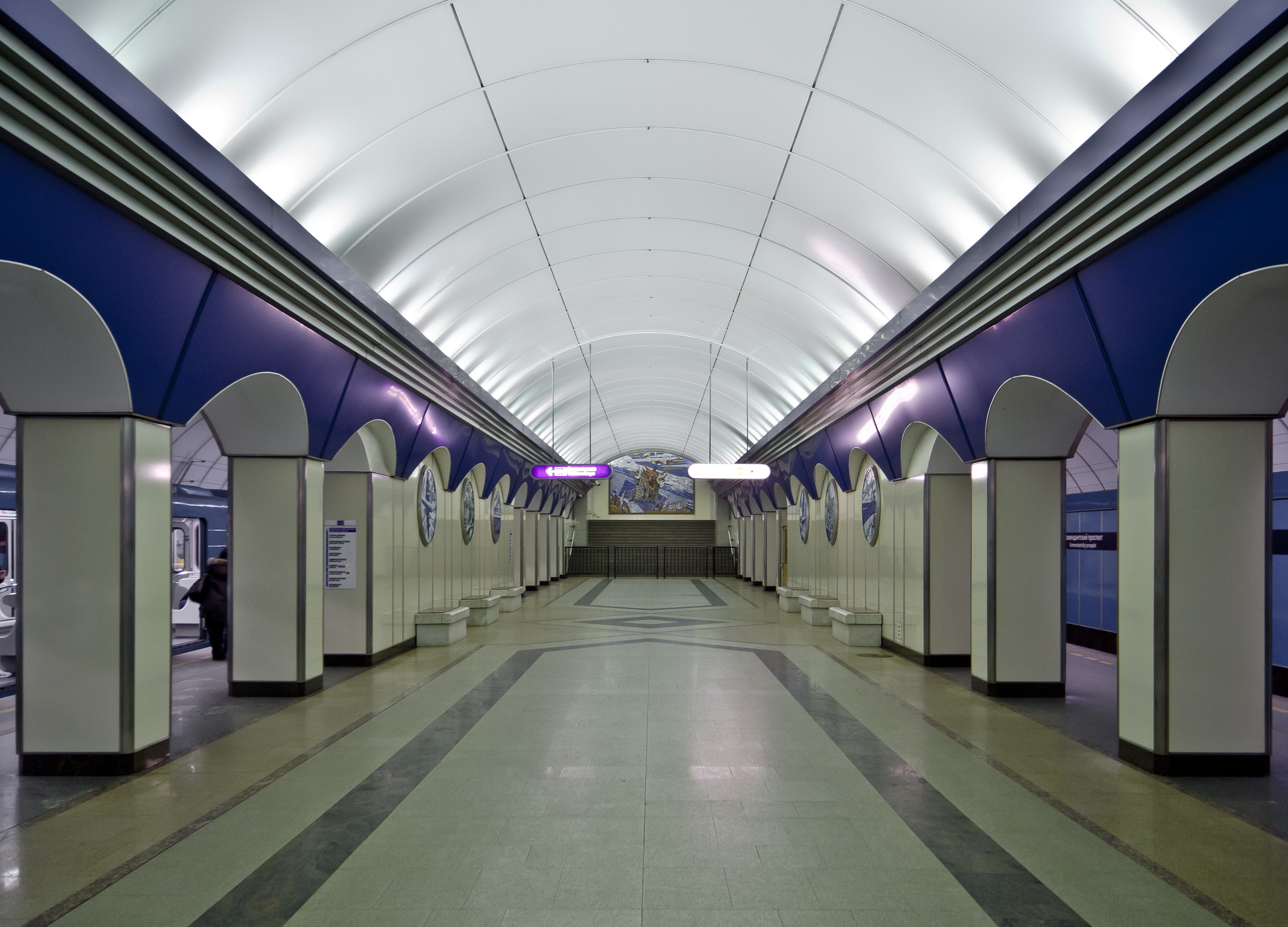 Deepest Metro Station In The World, St Petersburg