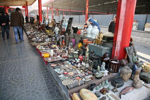 Panjiayuan Flea Market of Beijing