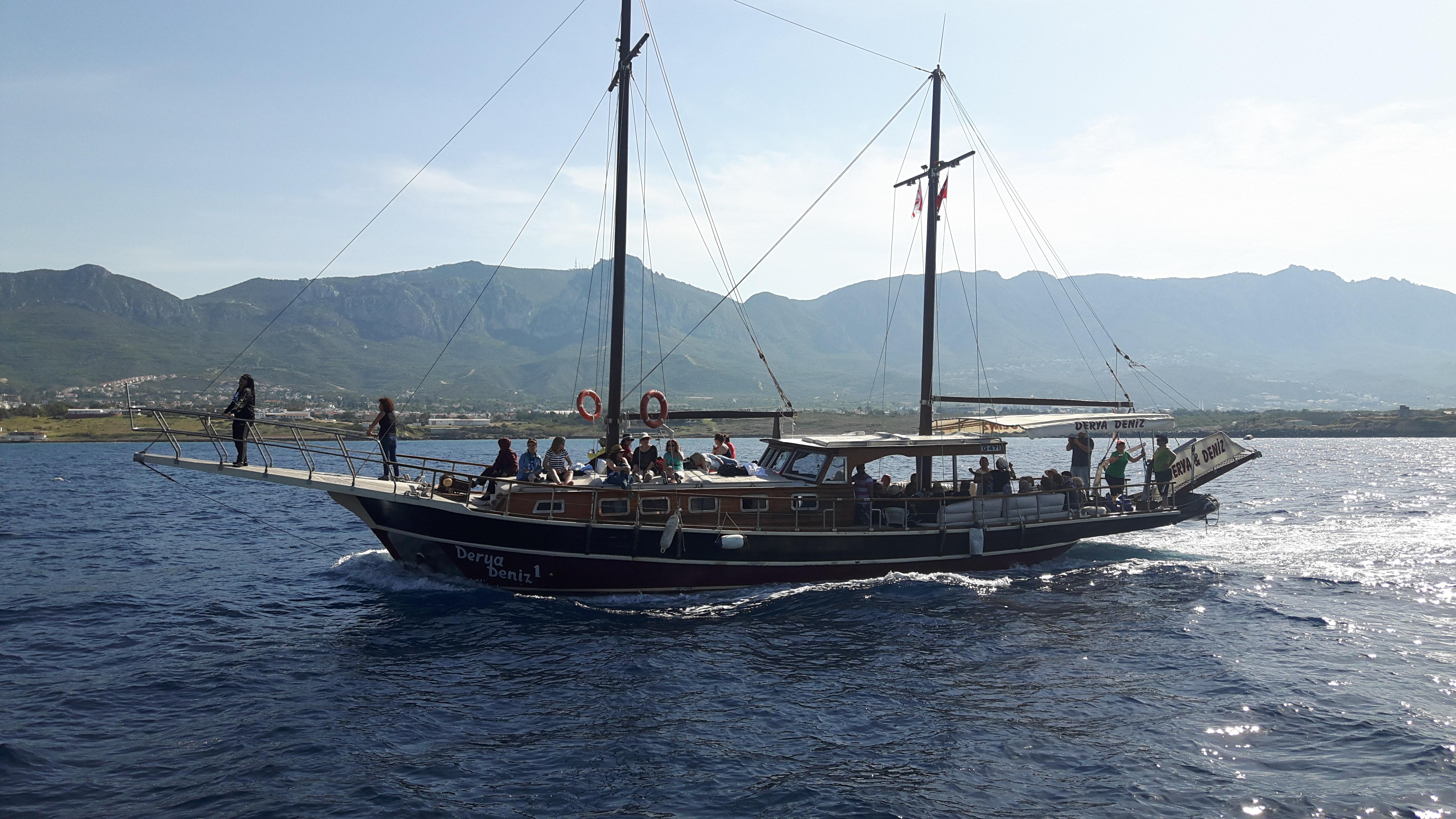 Boat Tour in Kyrenia-Cyprus